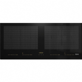 MIELE KM7684FL Induction hob with onset controls panorama design with two PowerFlex cooking areas